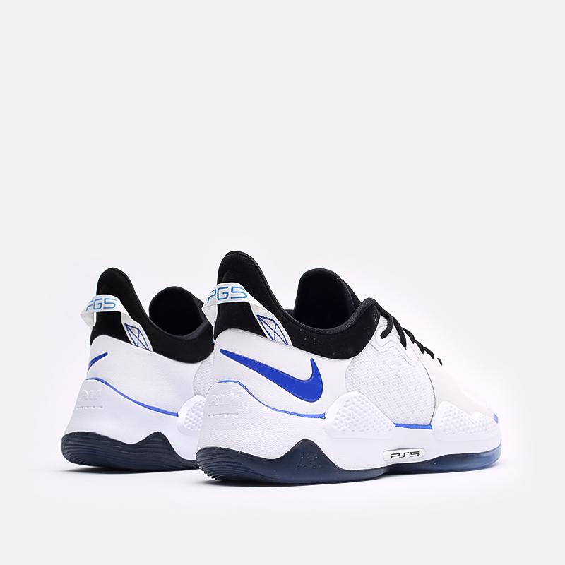 мужские белые  кроссовки nike pg 5 ps CW3144-100 - цена, описание, фото 3