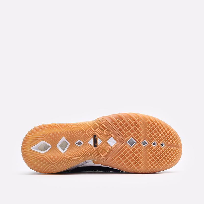 мужские чёрные  кроссовки nike lebron xviii CQ9283-007 - цена, описание, фото 5
