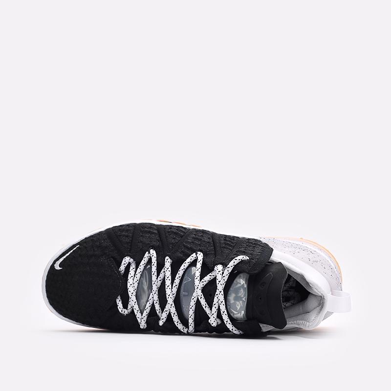 мужские чёрные  кроссовки nike lebron xviii CQ9283-007 - цена, описание, фото 6
