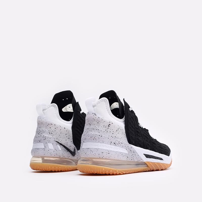 мужские чёрные  кроссовки nike lebron xviii CQ9283-007 - цена, описание, фото 3