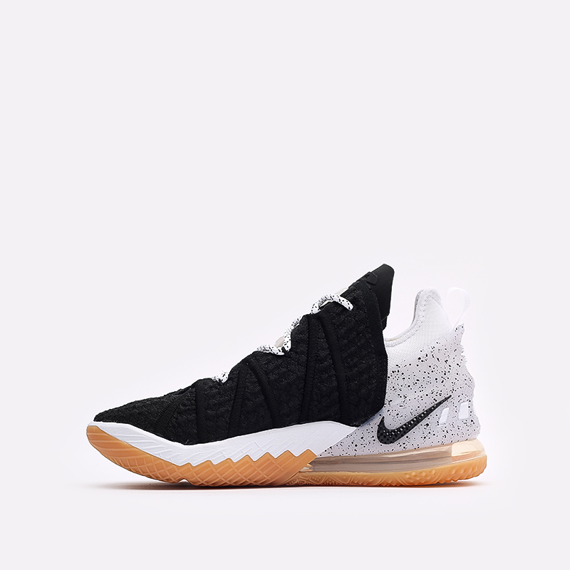 мужские чёрные  кроссовки nike lebron xviii CQ9283-007 - цена, описание, фото 2