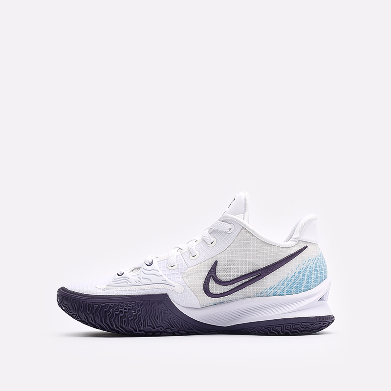 мужские белые  кроссовки nike kyrie low 4 CW3985-100 - цена, описание, фото 2