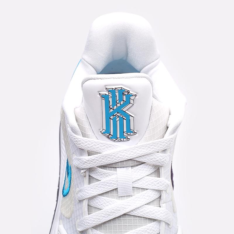 мужские белые  кроссовки nike kyrie low 4 CW3985-100 - цена, описание, фото 7