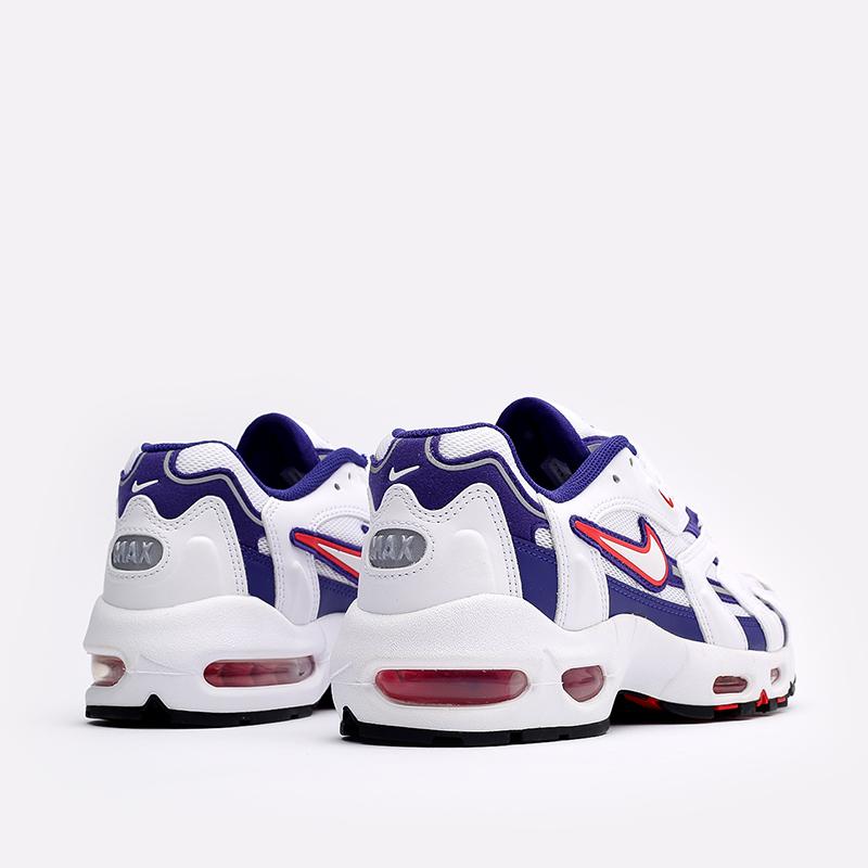 женские белые  кроссовки nike wmns air max 96 ii DA2230-100 - цена, описание, фото 3
