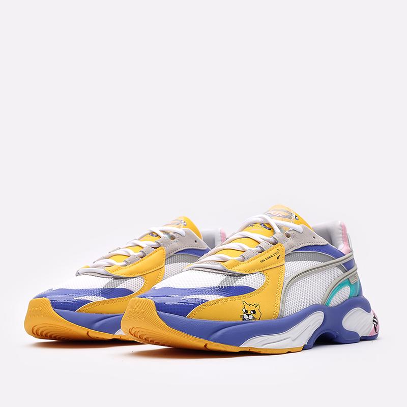 мужские разноцветные кроссовки PUMA RS-Connect x Aka Boku 37596801 - цена, описание, фото 4
