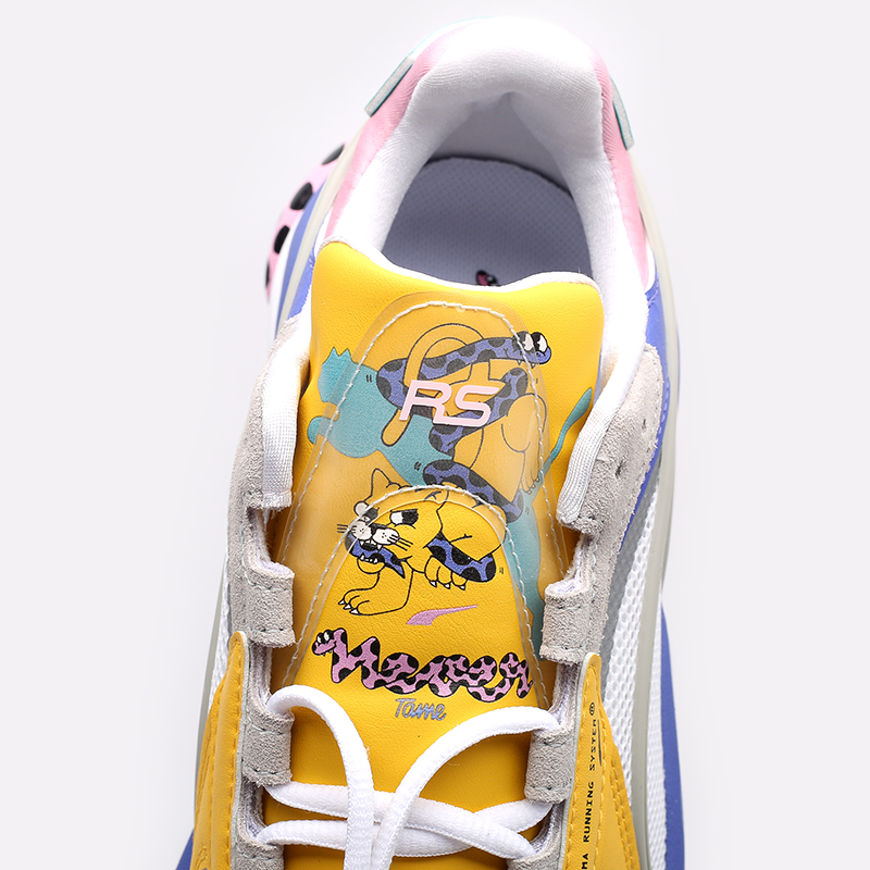 мужские разноцветные кроссовки PUMA RS-Connect x Aka Boku 37596801 - цена, описание, фото 9