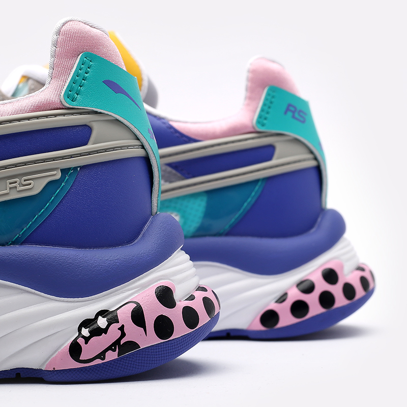 мужские разноцветные кроссовки PUMA RS-Connect x Aka Boku 37596801 - цена, описание, фото 7