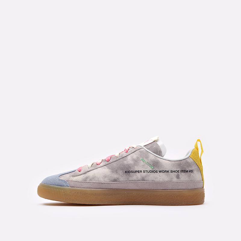 мужские разноцветные кроссовки PUMA Suede VTG x Kidsuper 38051301 - цена, описание, фото 2