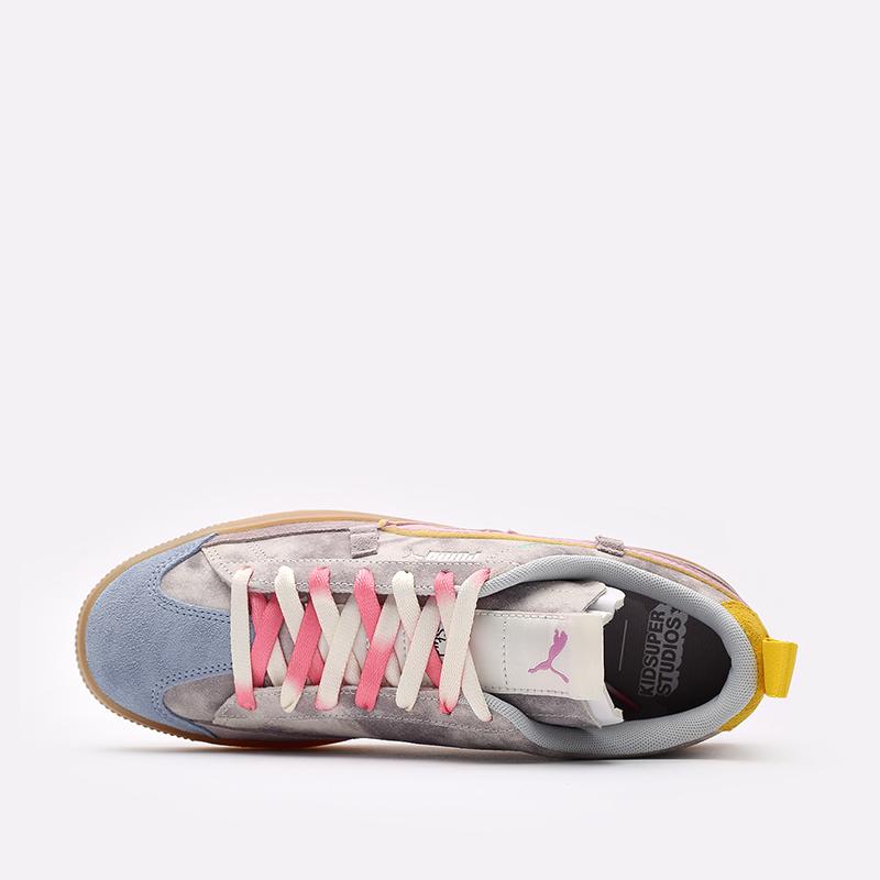 мужские разноцветные кроссовки PUMA Suede VTG x Kidsuper 38051301 - цена, описание, фото 6