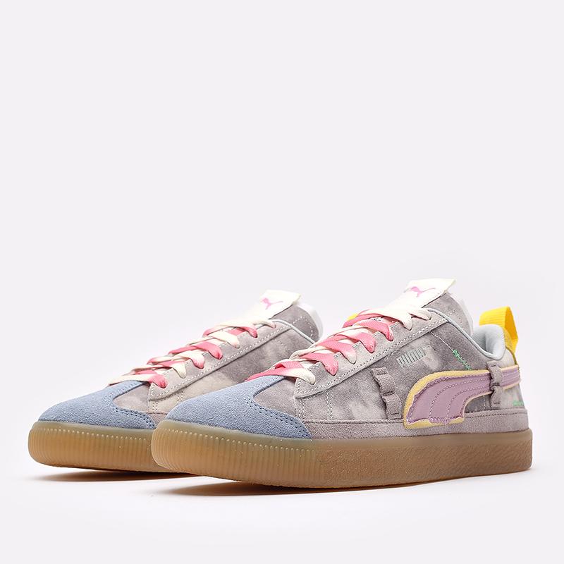 мужские разноцветные кроссовки PUMA Suede VTG x Kidsuper 38051301 - цена, описание, фото 4