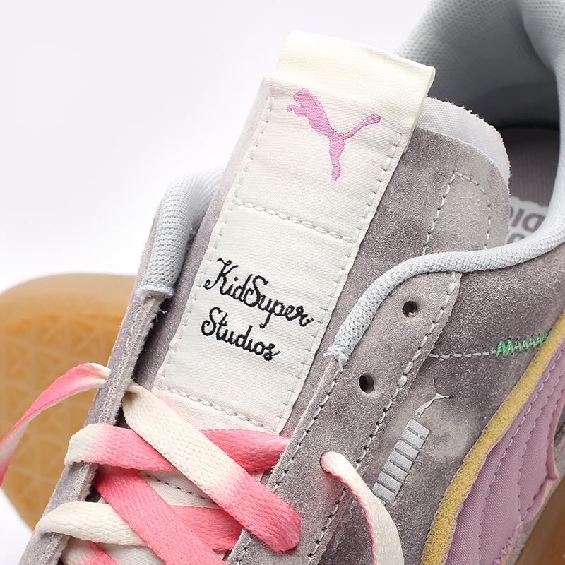 мужские разноцветные кроссовки PUMA Suede VTG x Kidsuper 38051301 - цена, описание, фото 7