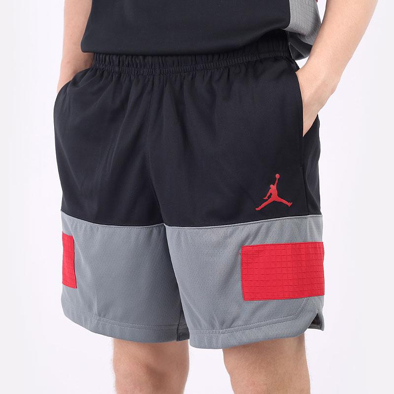 мужские черные  шорты  jordan dri-fit air statement shorts CZ4766-010 - цена, описание, фото 1