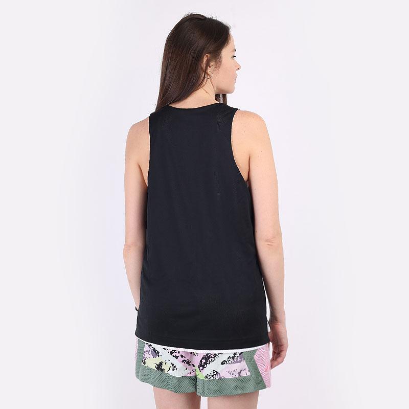 женскую белую, черную  майку nike swoosh fly women's reversible basketball jersey DA5401-100 - цена, описание, фото 8