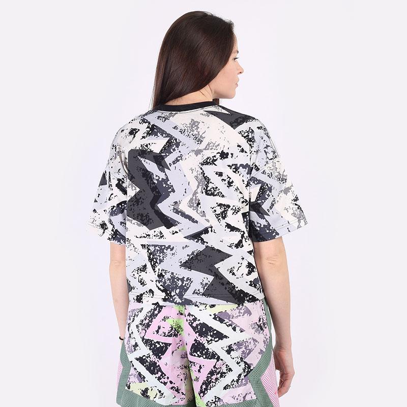 женскую серую  футболка jordan heatwave women's boxy t-shirt DD0411-084 - цена, описание, фото 6