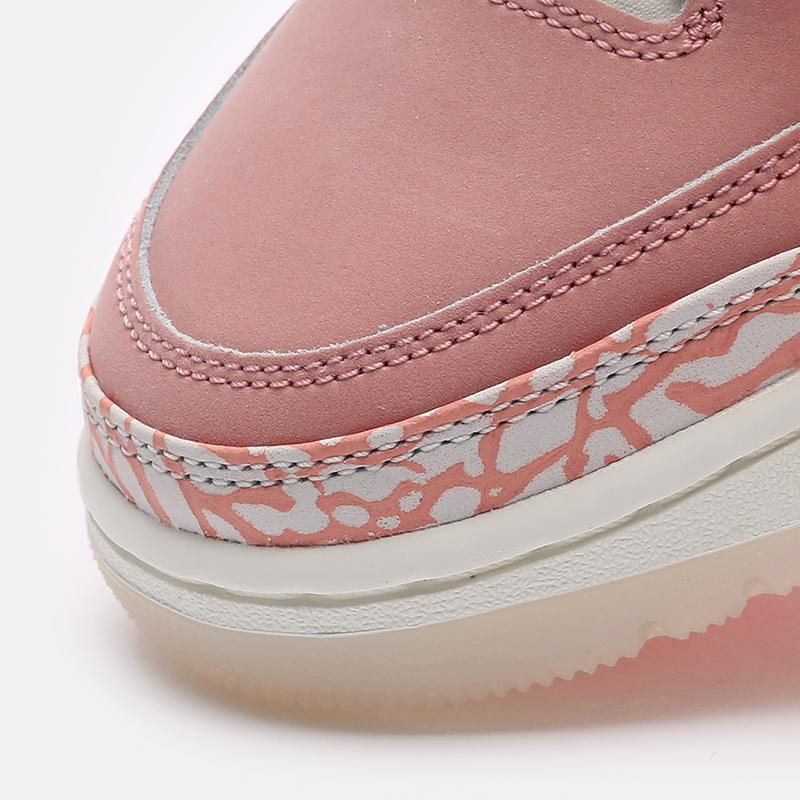 женские розовые  кроссовки jordan wmns 3 retro CK9246-600 - цена, описание, фото 7