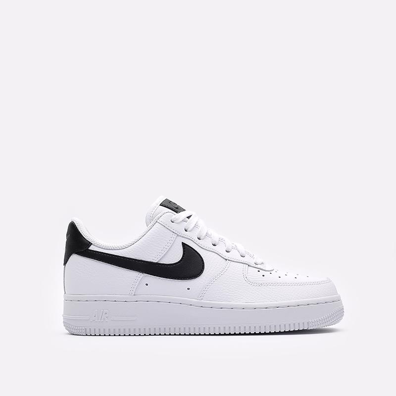 женские белые, чёрные  кроссовки nike wmns air force 1 '07 315115-152 - цена, описание, фото 1