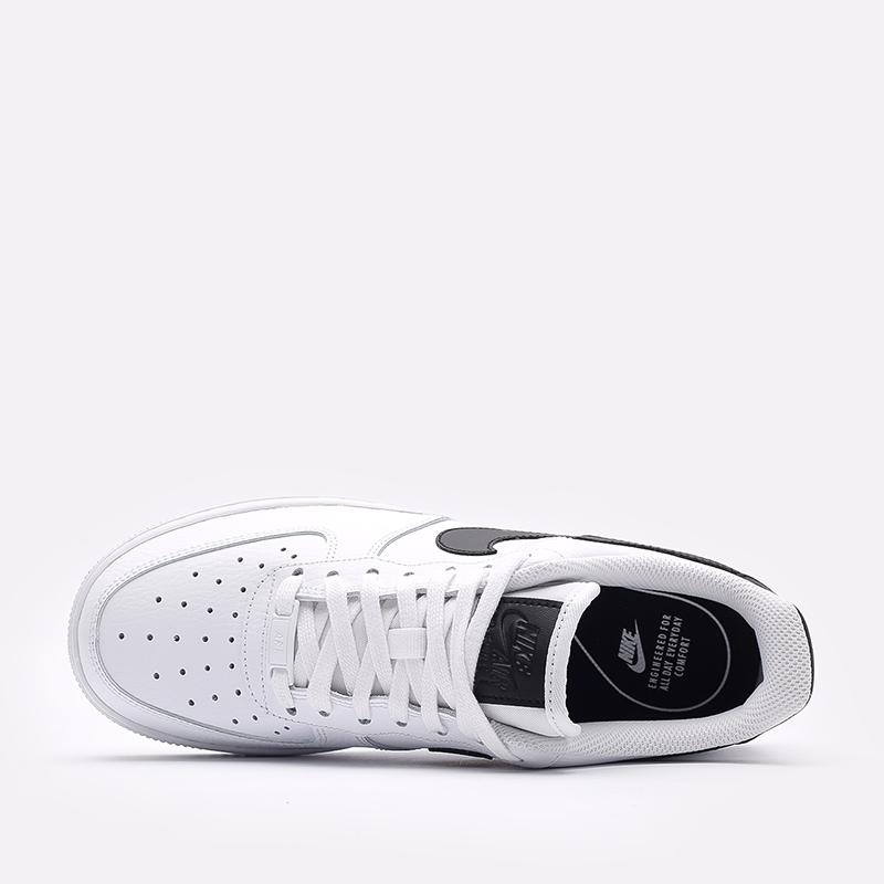 женские белые, чёрные  кроссовки nike wmns air force 1 '07 315115-152 - цена, описание, фото 6