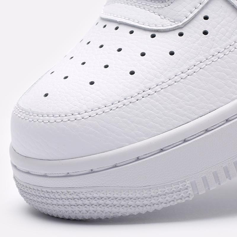 женские белые, чёрные  кроссовки nike wmns air force 1 '07 315115-152 - цена, описание, фото 7