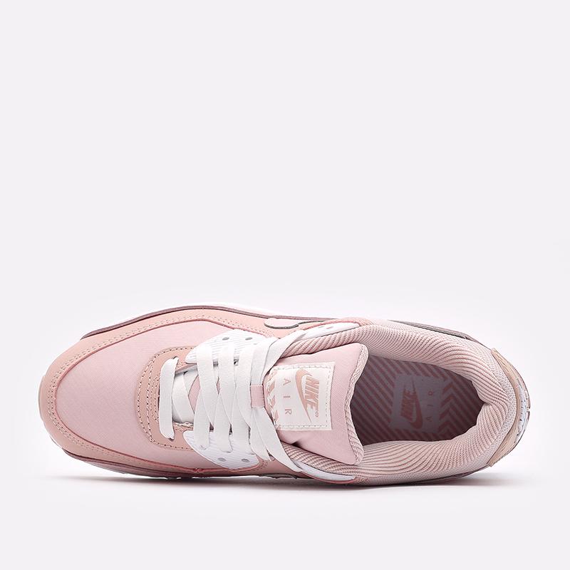 женские розовые кроссовки Nike WMNS Air Max 90 DJ3862-600 - цена, описание, фото 4