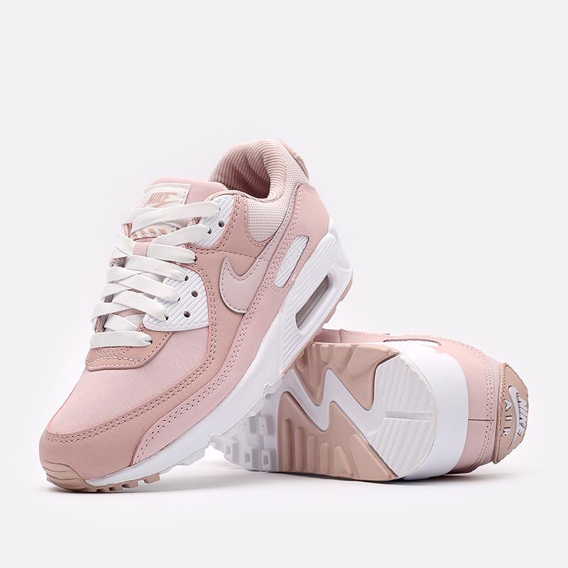 женские розовые кроссовки Nike WMNS Air Max 90 DJ3862-600 - цена, описание, фото 6