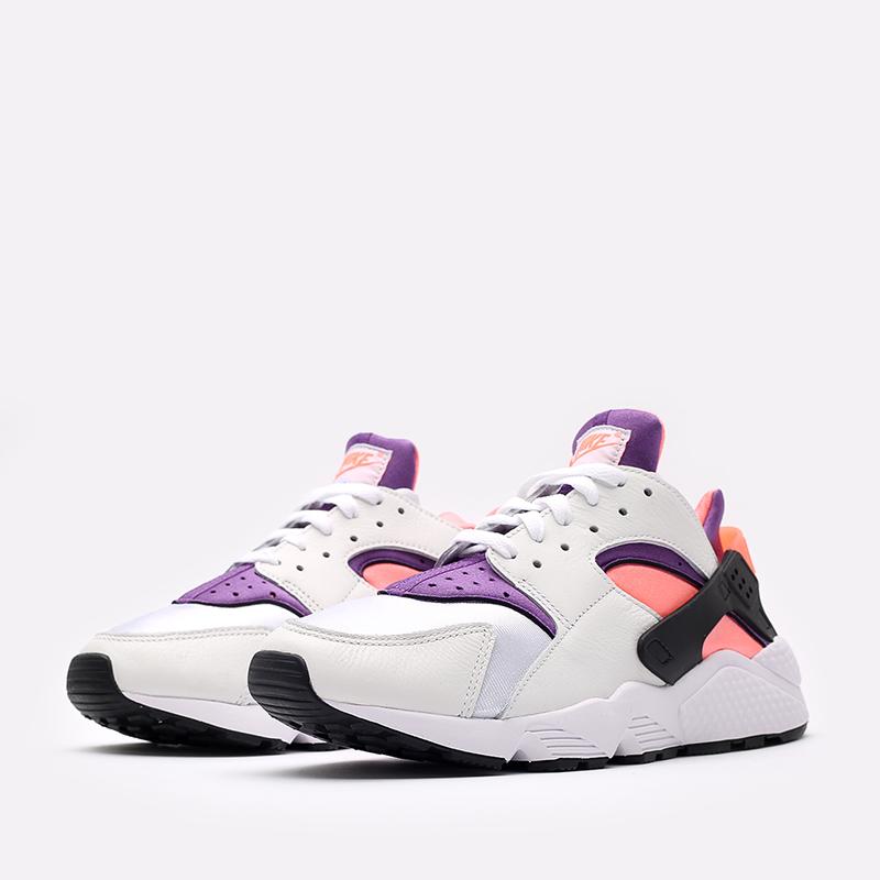 белые  кроссовки nike air huarache DD1068-101 - цена, описание, фото 2