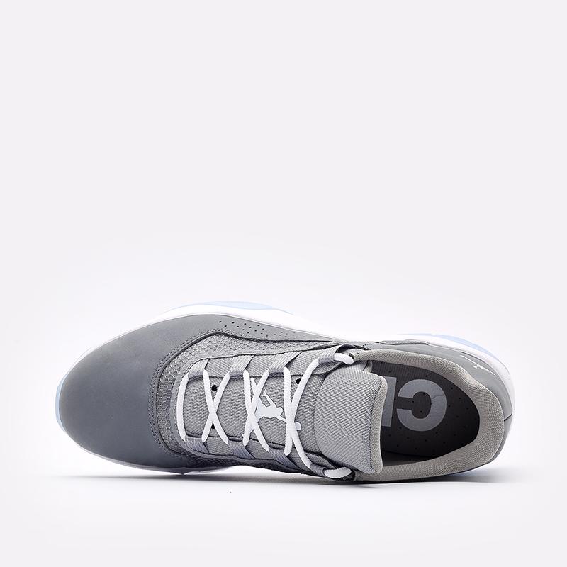 мужские серые  кроссовки jordan 11 cmft low CW0784-001 - цена, описание, фото 6