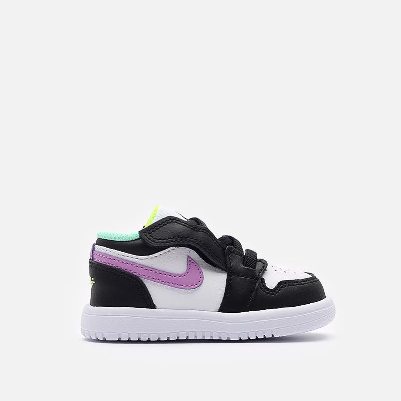 детские разноцветные  кроссовки jordan 1 low alt (td) CI3436-151 - цена, описание, фото 1