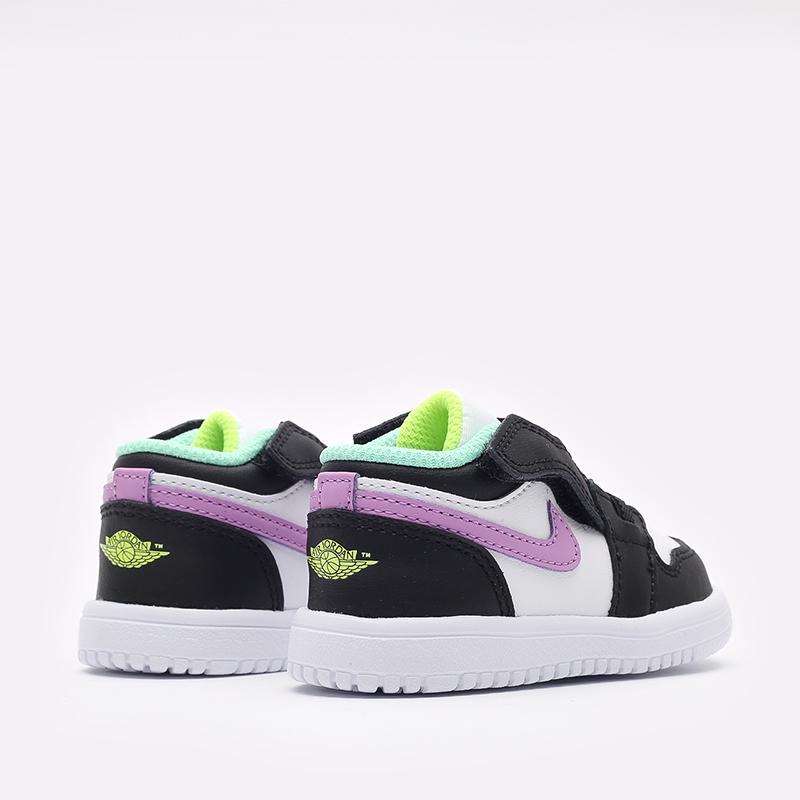 детские разноцветные  кроссовки jordan 1 low alt (td) CI3436-151 - цена, описание, фото 3