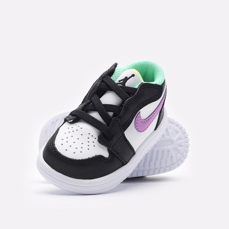 детские разноцветные  кроссовки jordan 1 low alt (td) CI3436-151 - цена, описание, фото 2