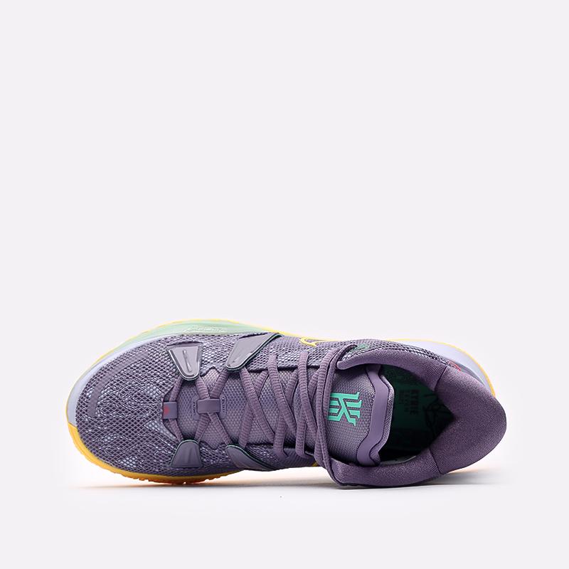 мужские фиолетовые  кроссовки nike kyrie 7 CQ9326-500 - цена, описание, фото 6