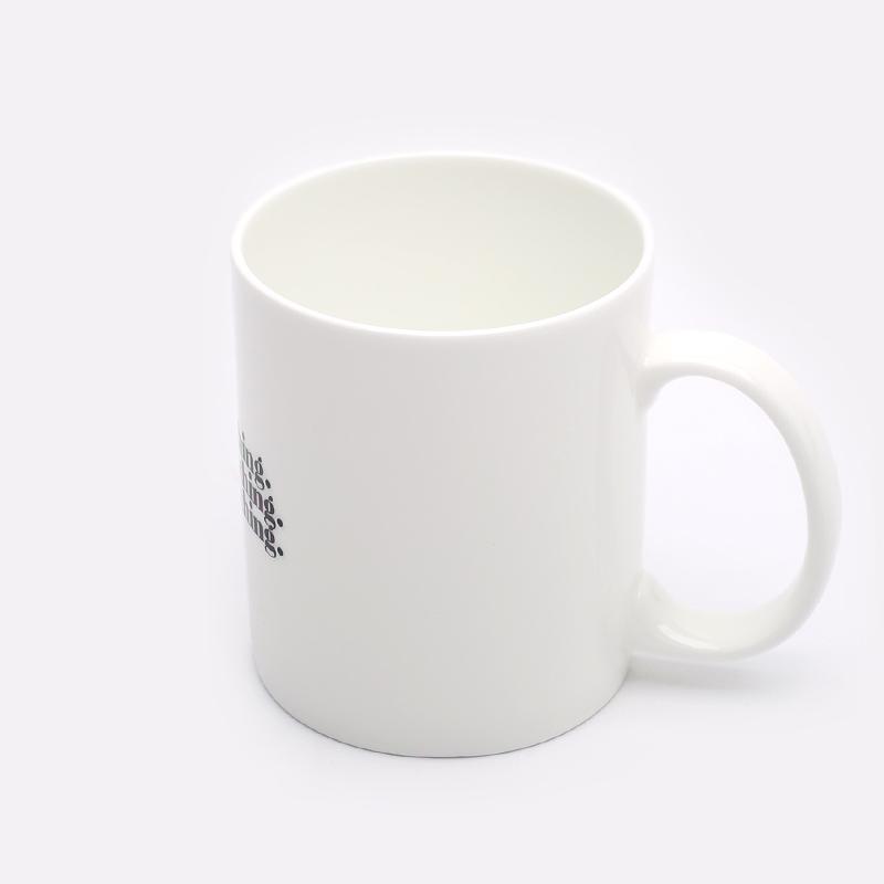 белую  кружка carhartt wip nothing mug I029233-white - цена, описание, фото 3