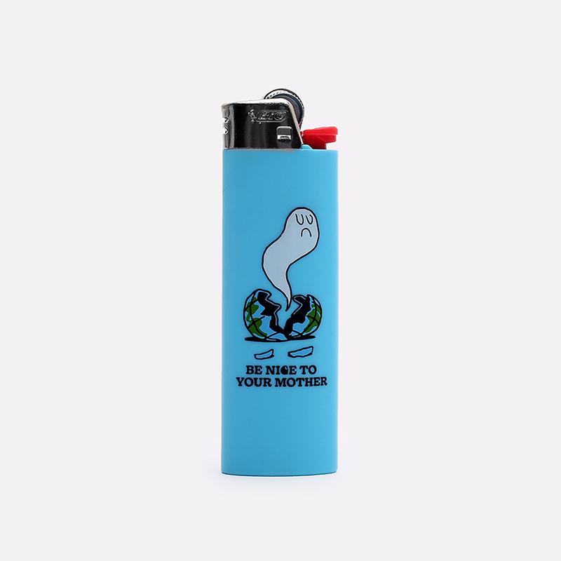 голубую  зажигалка carhartt wip nice to mother I000127-blue - цена, описание, фото 1