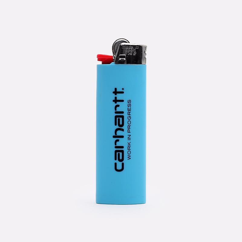 голубую  зажигалка carhartt wip nice to mother I000127-blue - цена, описание, фото 2