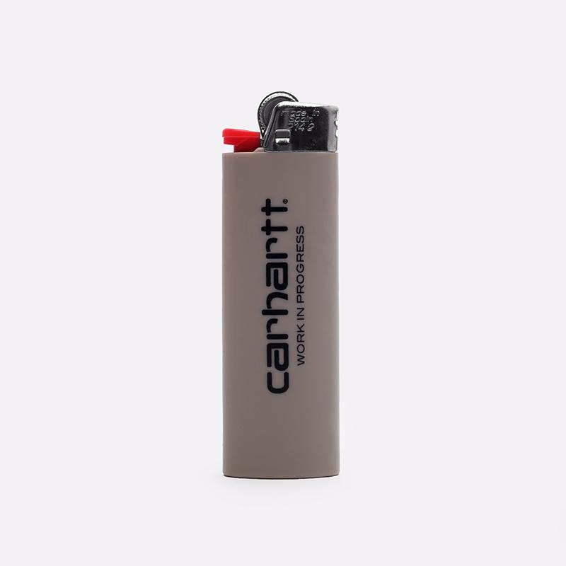 серую  зажигалка carhartt wip nice to mother I000127-grey - цена, описание, фото 2