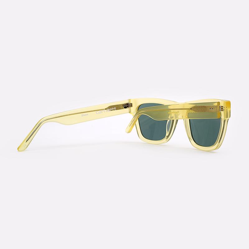 жёлтый  солнцезащитные очки carhartt wip shane I027667-yellow/grey - цена, описание, фото 2