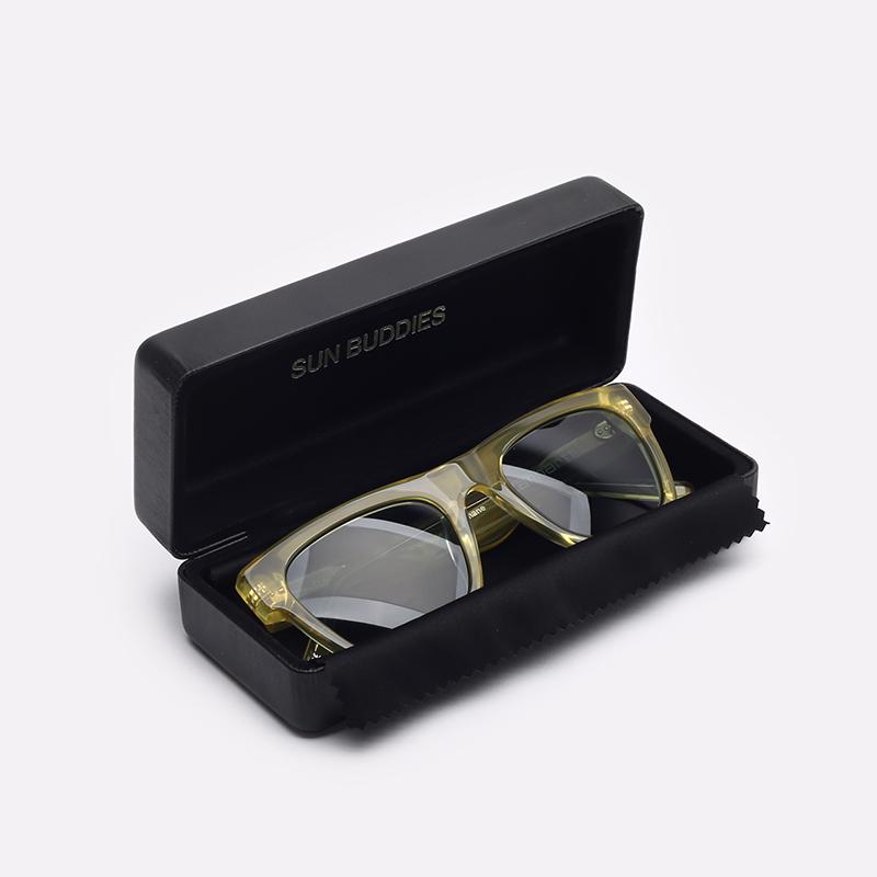 жёлтый  солнцезащитные очки carhartt wip shane I027667-yellow/grey - цена, описание, фото 3