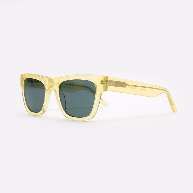 жёлтый  солнцезащитные очки carhartt wip shane I027667-yellow/grey - цена, описание, фото 1