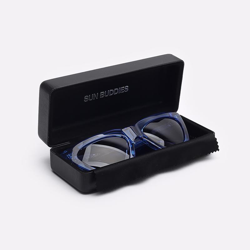синий  солнцезащитные очки carhartt wip grace I028340-blue/grey - цена, описание, фото 3