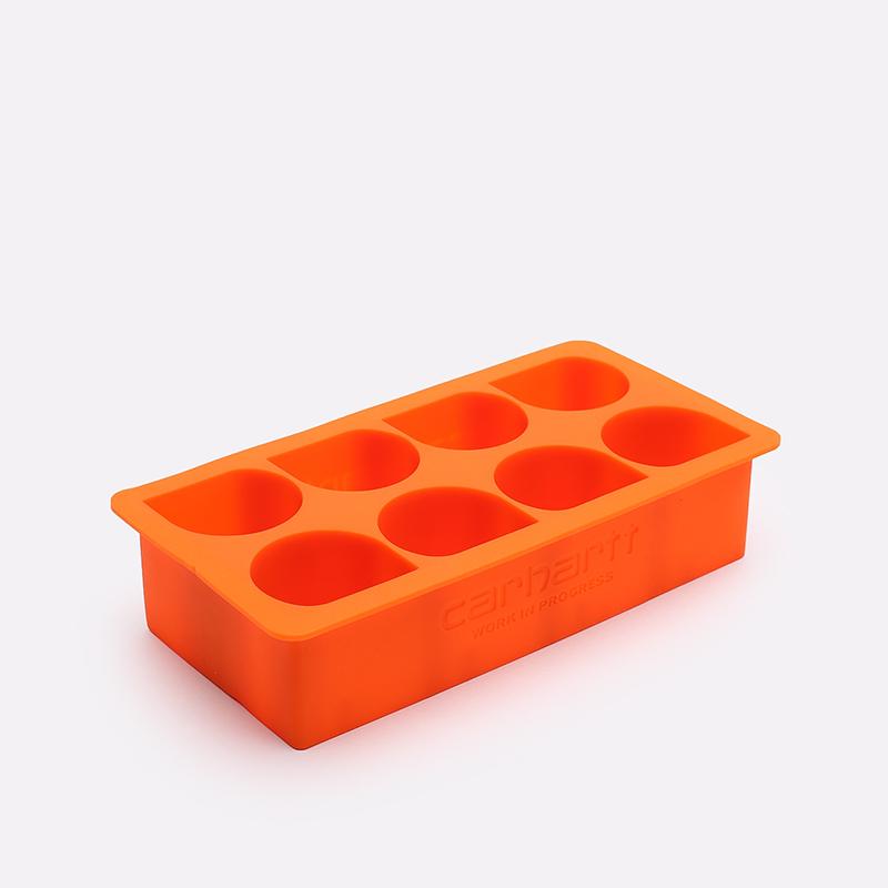 оранжевую  форма для льда carhartt wip ice cube tray I026757-orange - цена, описание, фото 1