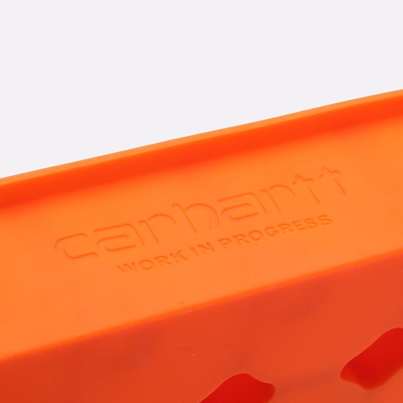 оранжевую  форма для льда carhartt wip ice cube tray I026757-orange - цена, описание, фото 3
