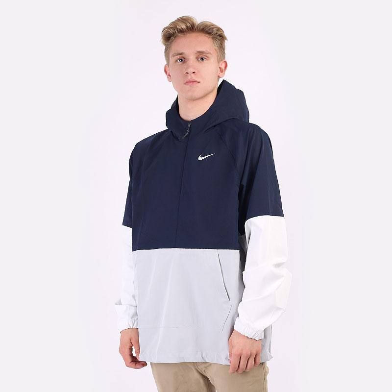 мужскую разноцветную  куртку nike golf repel hooded anorak jacket CU9773-452 - цена, описание, фото 1