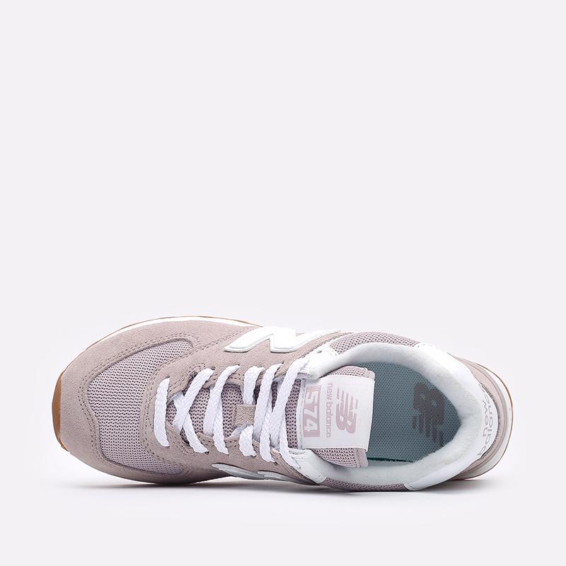 мужские розовые  кроссовки new balance 574 WL574PA2/B - цена, описание, фото 6
