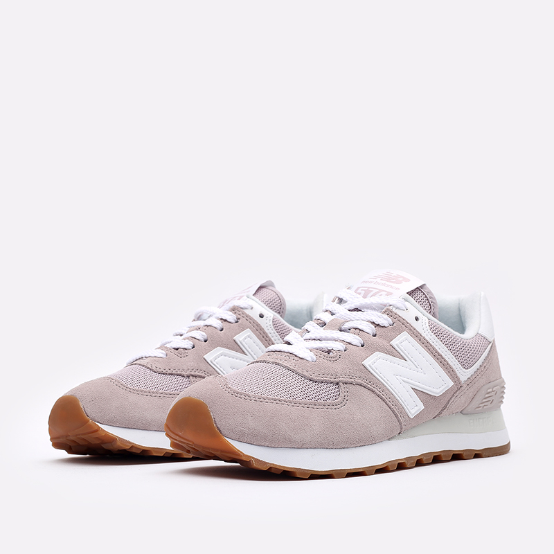 мужские розовые  кроссовки new balance 574 WL574PA2/B - цена, описание, фото 4