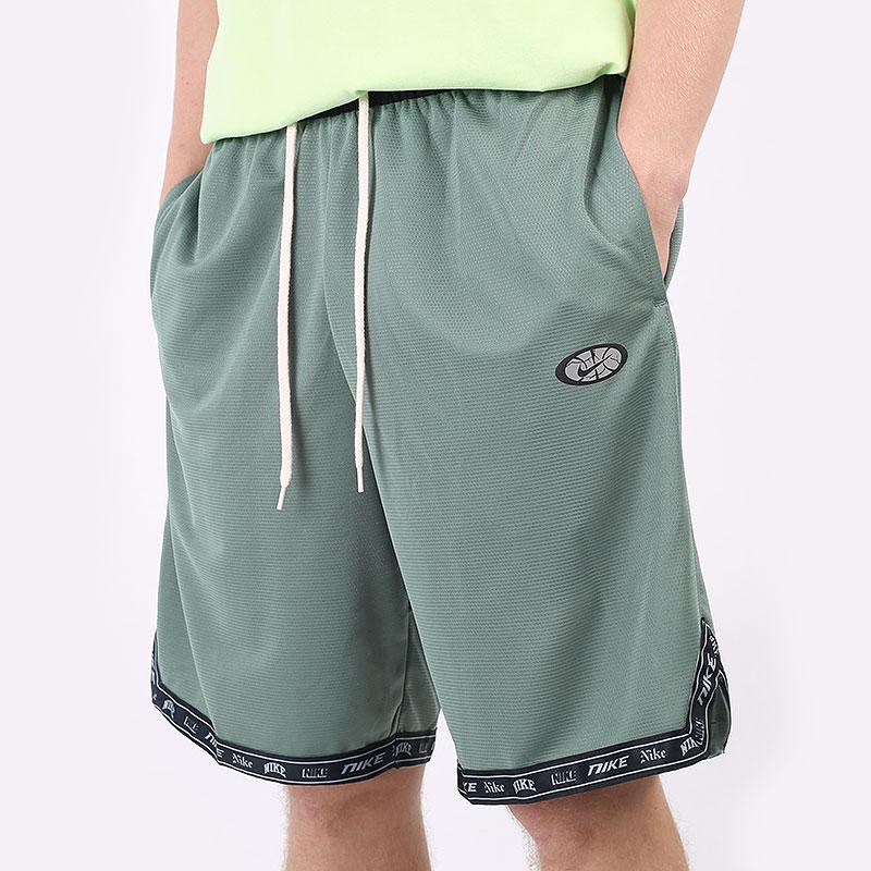 мужские зеленые  шорты  nike dri-fit dna basketball shorts CV1921-353 - цена, описание, фото 1