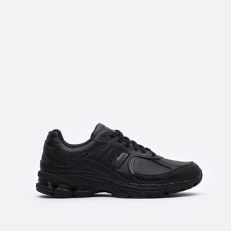 мужские чёрные  кроссовки new balance 2002 ML2002RK/D - цена, описание, фото 1