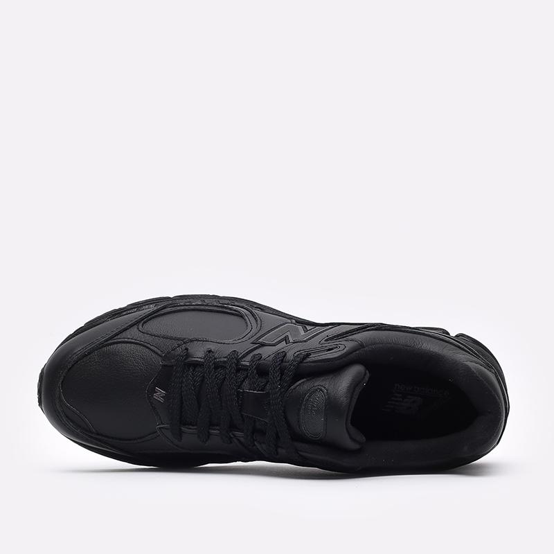 мужские чёрные  кроссовки new balance 2002 ML2002RK/D - цена, описание, фото 6