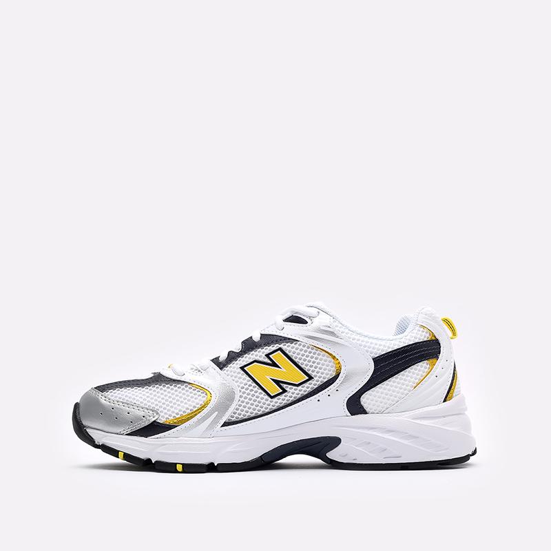 мужские белые  кроссовки new balance 530 MR530UNX/D - цена, описание, фото 2