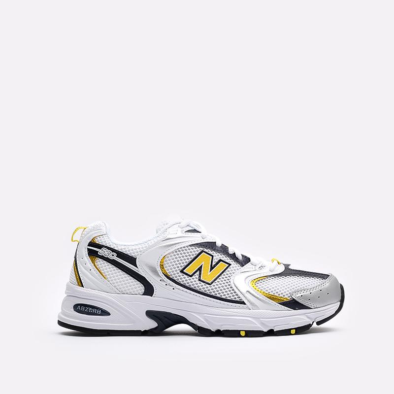 мужские белые  кроссовки new balance 530 MR530UNX/D - цена, описание, фото 1