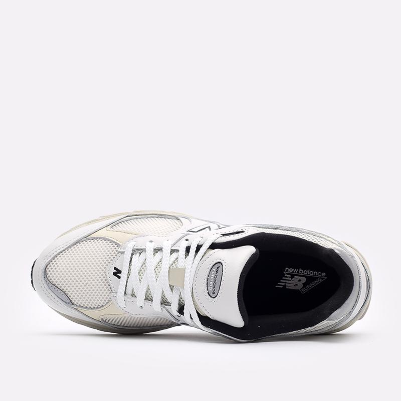 мужские белые  кроссовки new balance 2002 ML2002RQ/D - цена, описание, фото 6