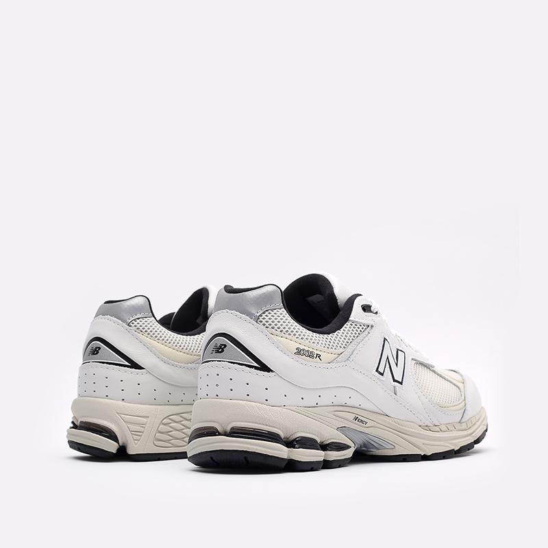 мужские белые  кроссовки new balance 2002 ML2002RQ/D - цена, описание, фото 3